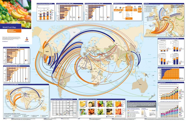 world vegetable map
