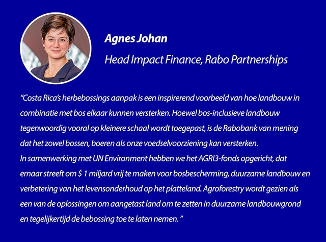 Quote Agnes Johan, Hoofd Impact Finance, Rabo Partnerships